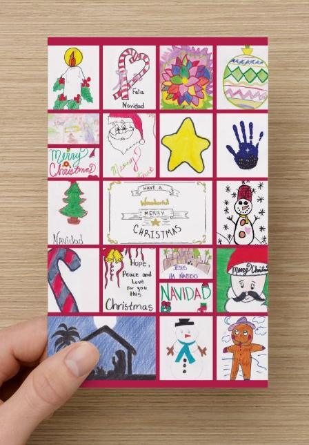 Mario Foundation Christmas Card Order